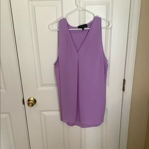 Size 18 Eloquii blouse, lilac